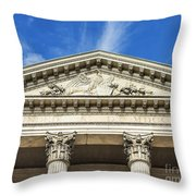 First Bank Of The Usa Throw Pillow
