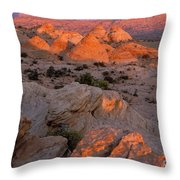 First Light On Little Cut Throw Pillow