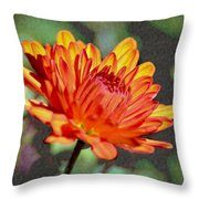 First Mum For Fall Throw Pillow by Sandi OReilly