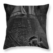 First Nation Station  Throw Pillow