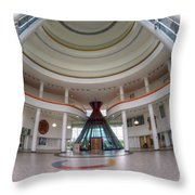 First Nations University Of Canada Regina Campus Throw Pillow