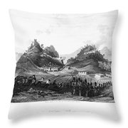 First Opium War, 1841 Throw Pillow