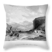 First Opium War, C1841 Throw Pillow