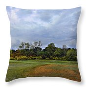 First Rain Of Fall Throw Pillow