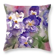 First Sign Of Spring Throw Pillow