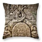 Fish Astrology Throw Pillow