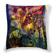 Fish Kritters Throw Pillow