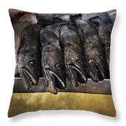 Fish Market Seville Metropol Parasol Throw Pillow