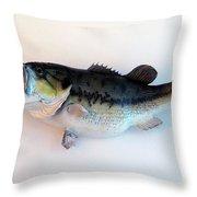 Fish Mount Set 07 A Throw Pillow