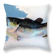 Fish Mount Set 07 C Throw Pillow