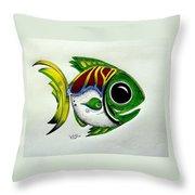 Fish Study 2 Throw Pillow