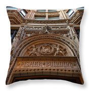 Fisher Building Chicago Throw Pillow