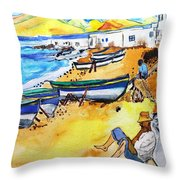 Fisher Village Throw Pillow
