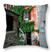 Fisherman's Isle Italy Throw Pillow
