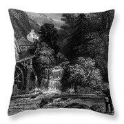 Fishermen, 19th Century Throw Pillow by Granger