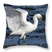 Fishing Dance Throw Pillow
