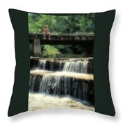 Fishing For Sunnies Throw Pillow