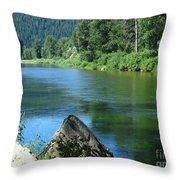 Fishing Spot 4 Throw Pillow