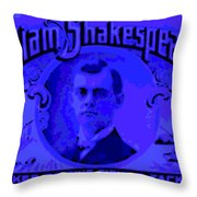 Fishing Tackle Maker Throw Pillow