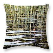 Fishy Fishy In The Lake ... Throw Pillow