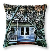 Five Gables Inn Of St Michaels Throw Pillow