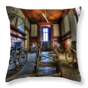 Five Go Mad For Wheels Throw Pillow