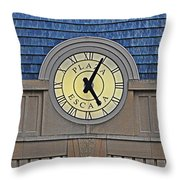 Five In The Evening Throw Pillow