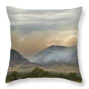 Flagstaff Fire Throw Pillow