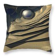 Flakes Of Gold Throw Pillow
