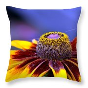 Flakes Of Pollen Throw Pillow
