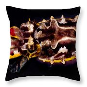 Flamboyant Cuttlefish Throw Pillow