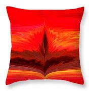 Flame 3 Throw Pillow