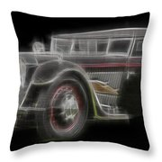 Fleche D'or Throw Pillow