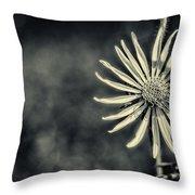 Fleur Jaune Throw Pillow
