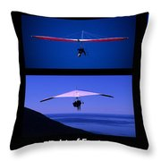 Flight Of Fantasy With Caption Throw Pillow