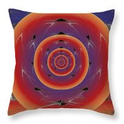 Flight Of The Firefly Throw Pillow