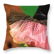 Flirty Throw Pillow