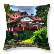 Float To Food Throw Pillow