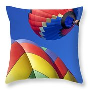 Floating High Throw Pillow
