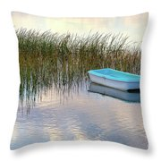 Floating In Clouds Throw Pillow