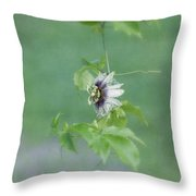 Floating Passion Throw Pillow