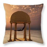 Flooded Dreams Throw Pillow