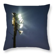 Floodlights Throw Pillow