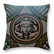 Floor At Victoria And Albert Museum Throw Pillow