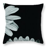 Flora Greetings Throw Pillow