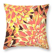 Floral Abstraction 18 Throw Pillow