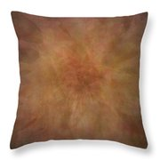 Floral Collage Throw Pillow
