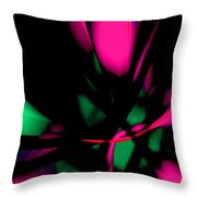 Floral Ecstasy II Throw Pillow