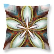 Floral Fantasy 090412 Throw Pillow