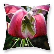 Floral Fist Throw Pillow